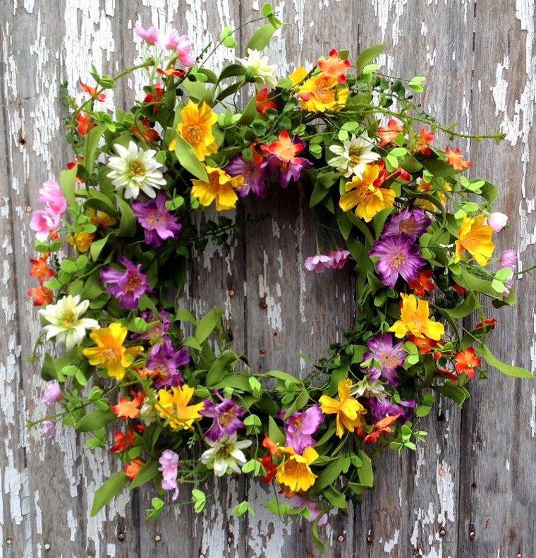 Prairie Flower Wreath - 22