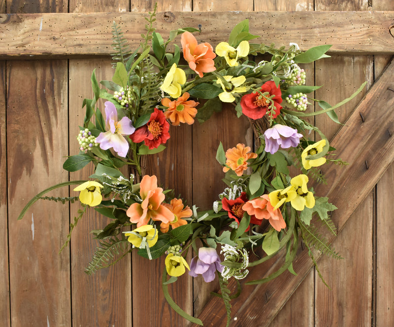 Springtime Fresh Flower Wreath