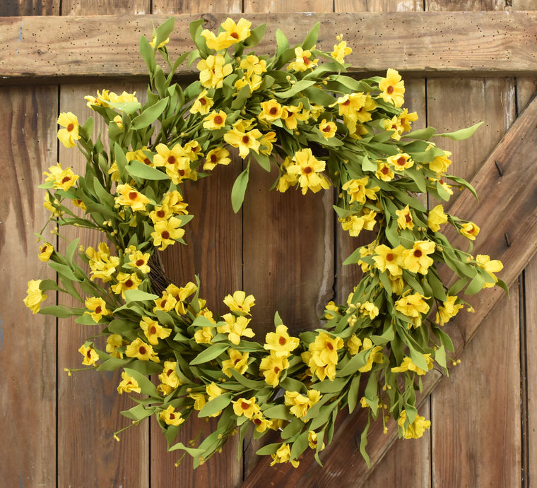 Black-Eyed Susan Wreath - 24 Wreath