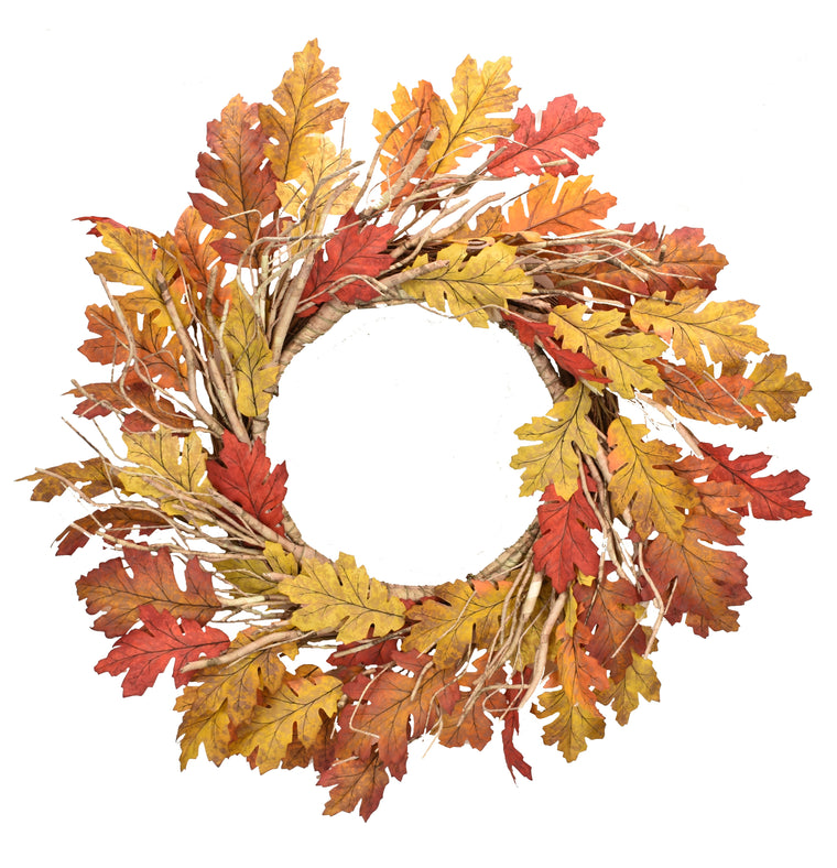 Antique Oak Leaf Wreath 26