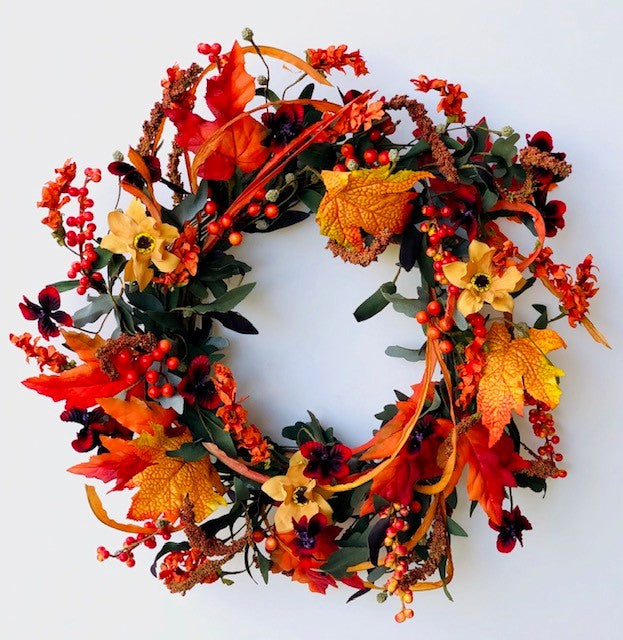 Autumn Foliage Wreath 5197Q0801