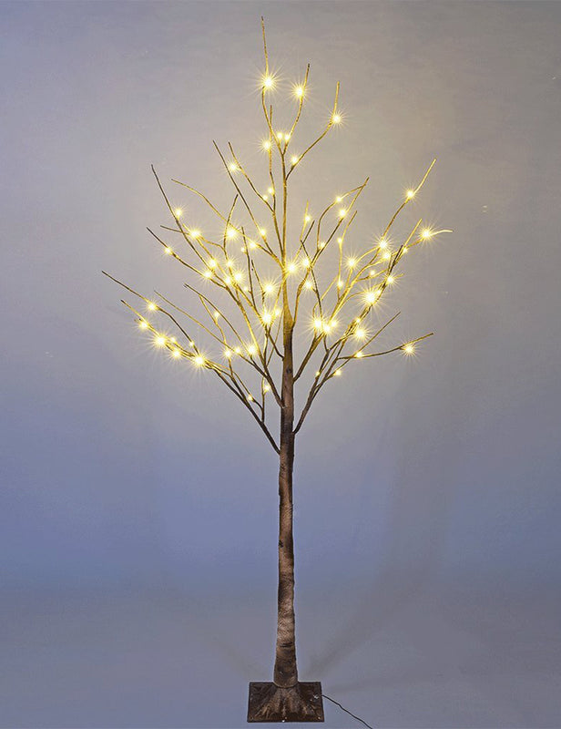 Brown Birch Tree 6 ft LED - 72L