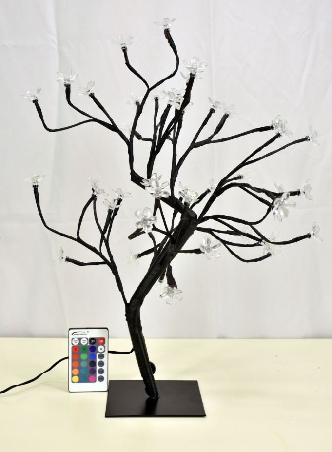 LED Bonsai Z Shape Tree 18