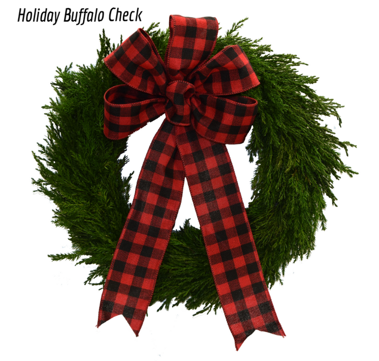 Emerald Cypress Wreath - 14