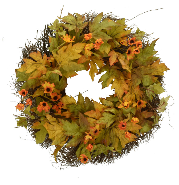 Fall Sunshine Wreath 20 Inch
