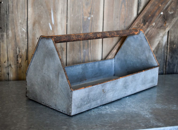 Galvanized Tool Box Caddy