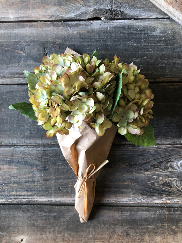 Krafted Bouquet - Green/Purple