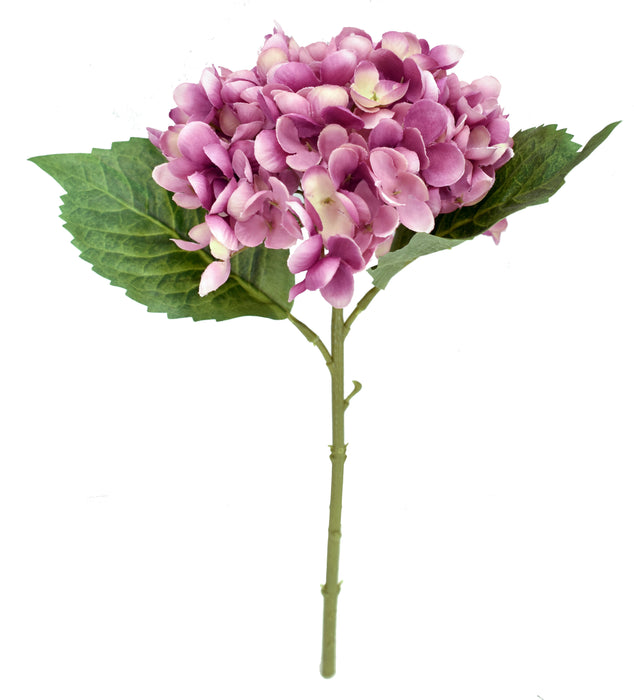 Faux Hydrangea Pick - Mauve - Set of 6
