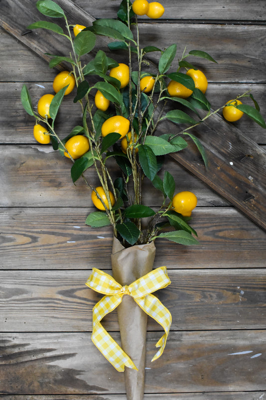 Lemon Leaf Vase Filler
