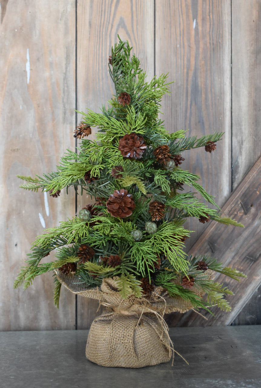 Pine & Juniper Mini Tree