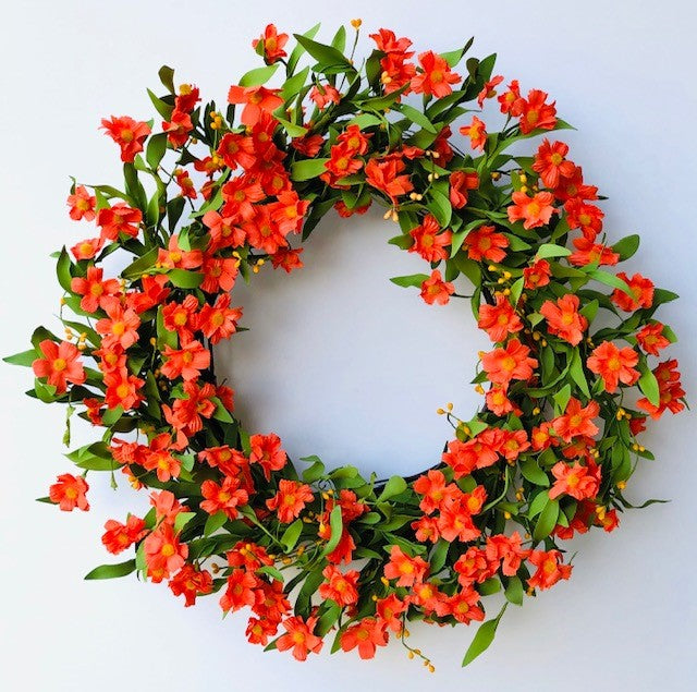 Sunny Marigold Wreath Orange 5172Q0804