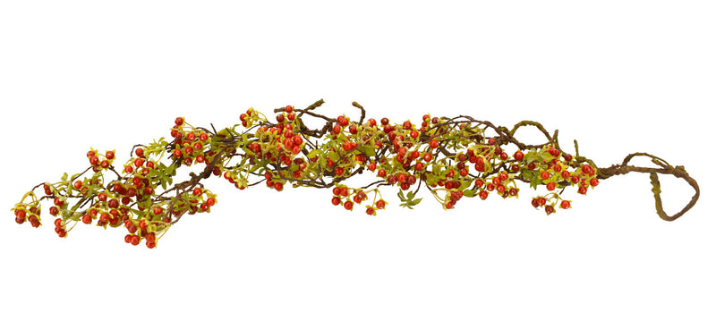Twig Berry Vine Red 48""