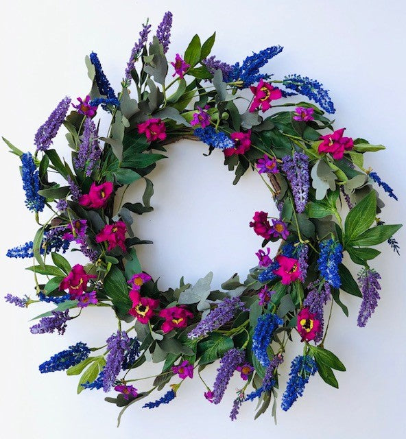 Violet Majestic Wreath 5195Q0801