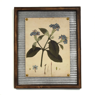 Blue Flower Wall Art