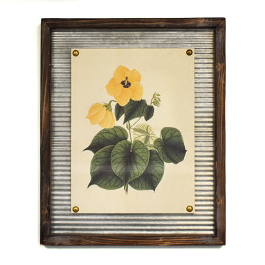 Lemon Hibiscus Wall Art