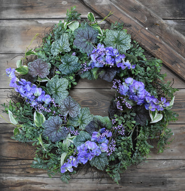 Wisteria Wreath - 22