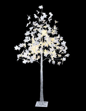 White Maple Tree 6 ft  Multi LED - 120L