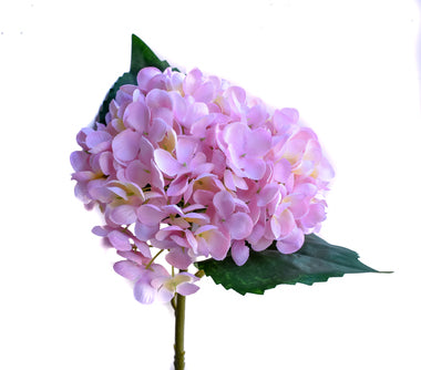 Faux Hydrangea Pick - Blush Pink - Set of 6