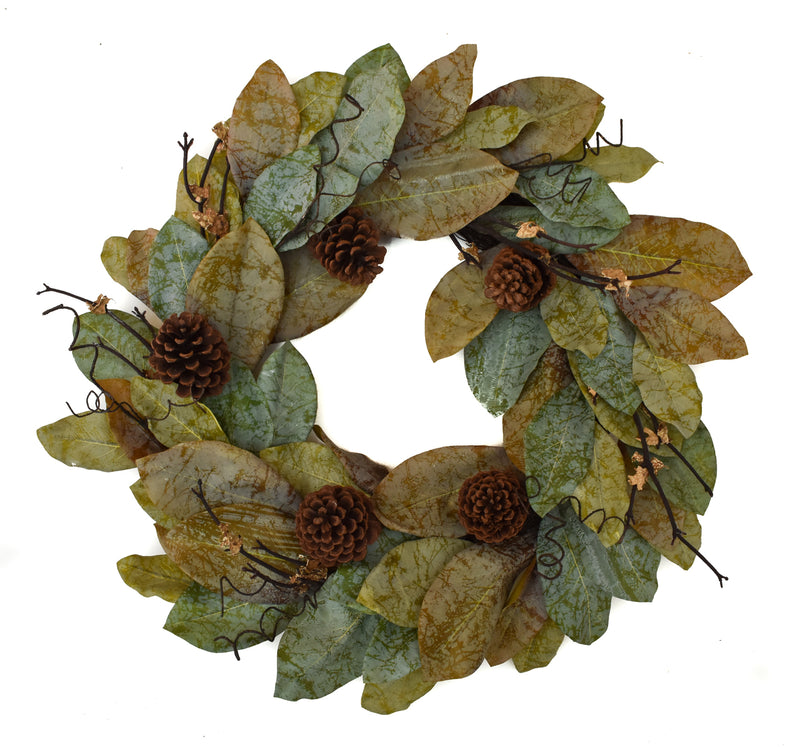 Magnolia Forest Wreath 24""