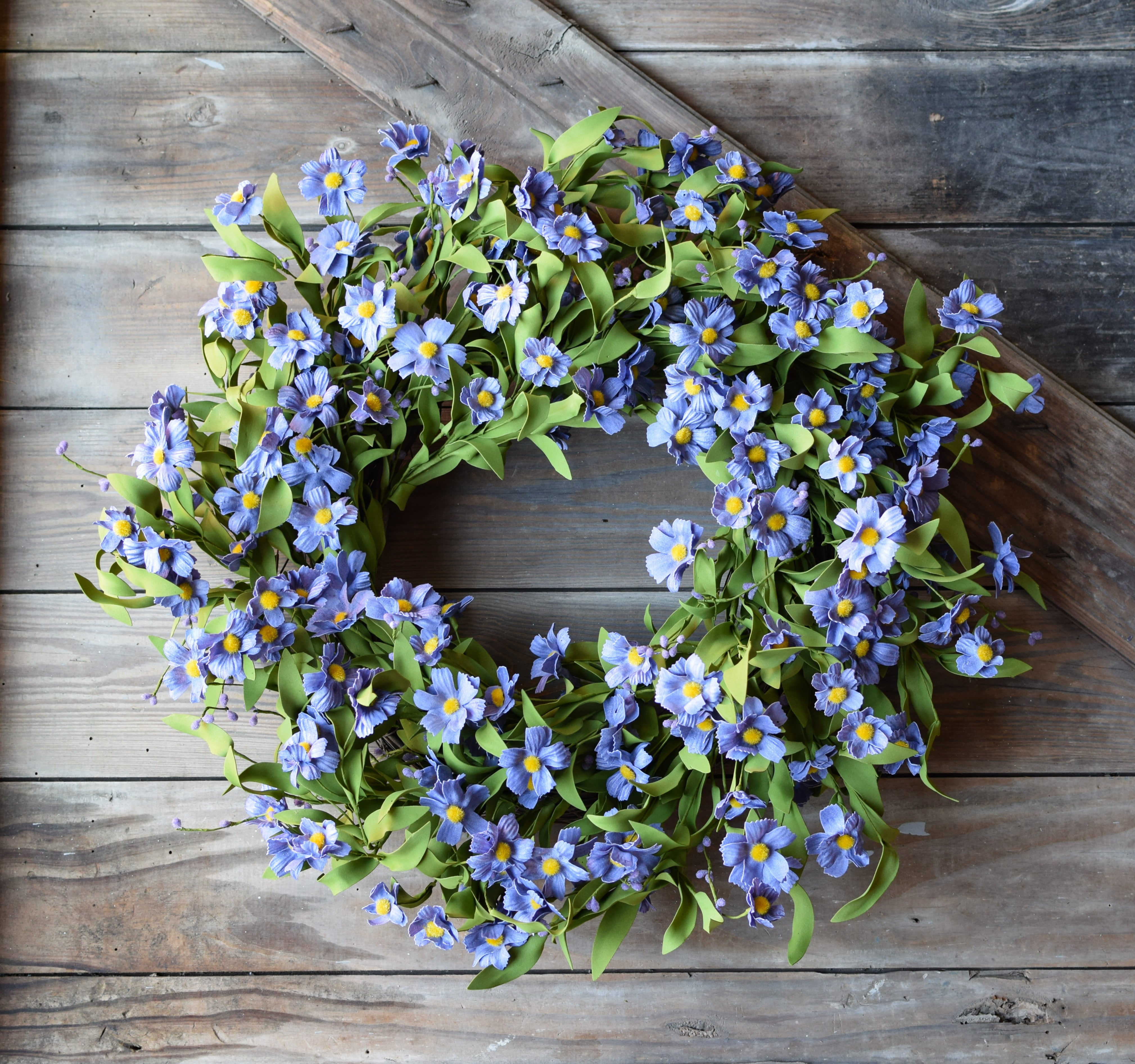 Forget Me Not Lavender Wreath 5173Q0801