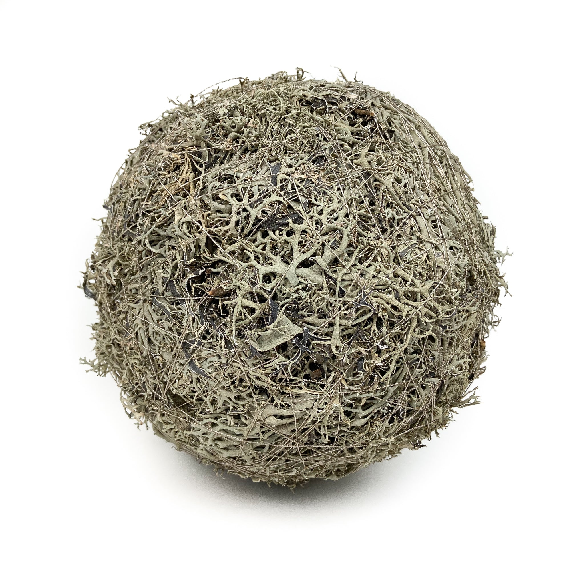 GREY-MOSS-BALL-NATURAL-8-INCH