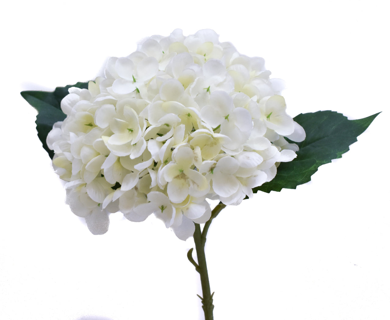 Faux Hydrangea Pick - White - Set of 6