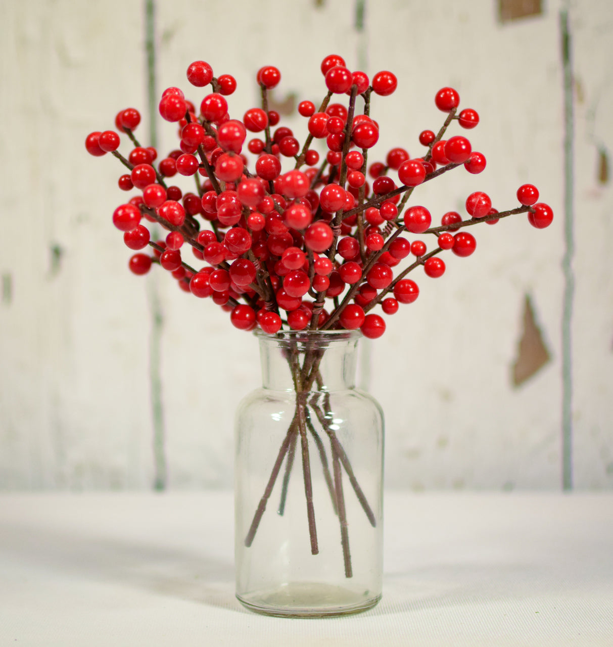 "Ilex Berry Red Pick 8"" - 6 pcs"
