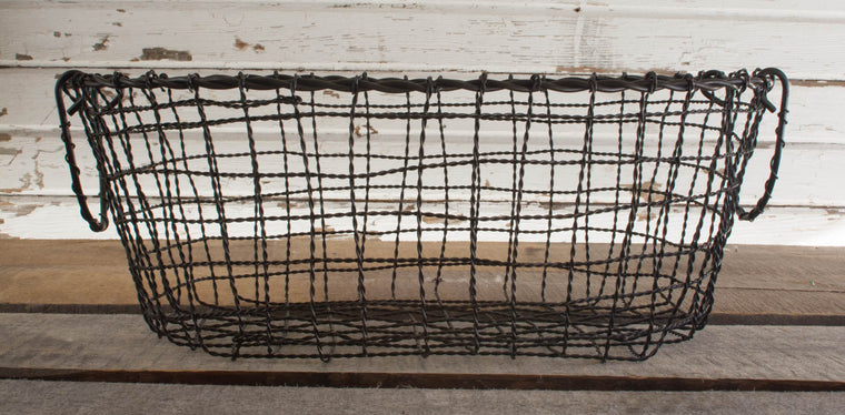 Iron Oval Basket - Medium