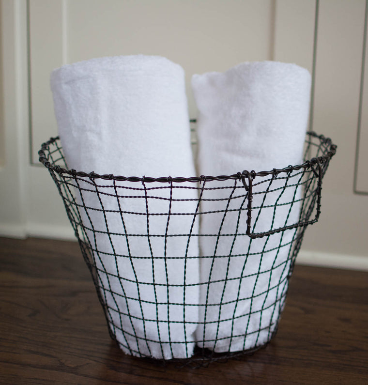 Iron Round Basket - Medium