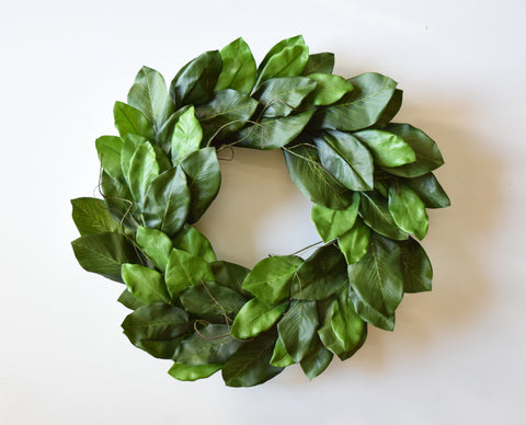 Mountain Magnolia Wreath - 24""