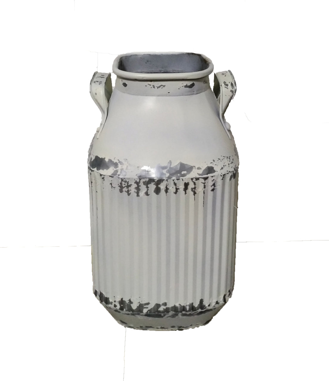 Galvanized Corrugated Urn
