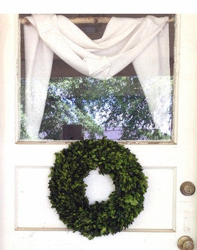 "Preserved Boxwood Wreath - 16"" - HOME DECORATIVE ACCENTS - 3"