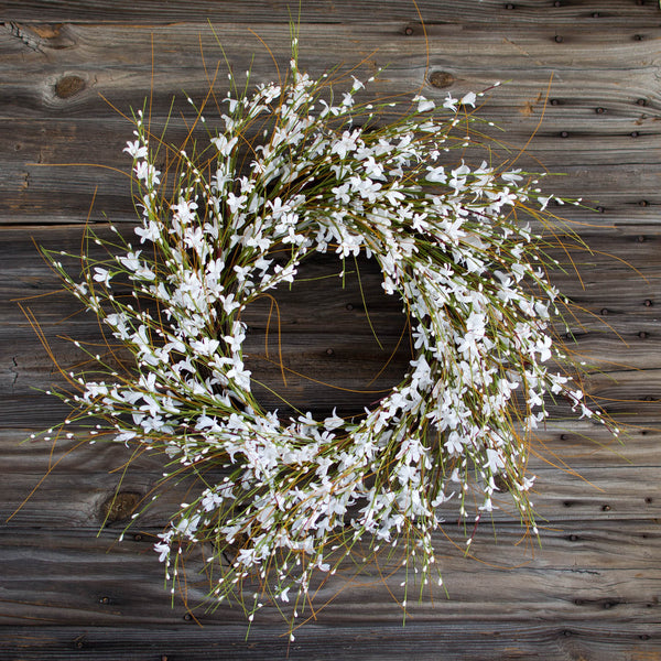 "Pure Elegance Wreath - 28"" - HOME DECORATIVE ACCENTS - 1"