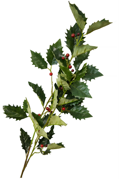"Holly Berry Spray - 41"" - Set of 6"