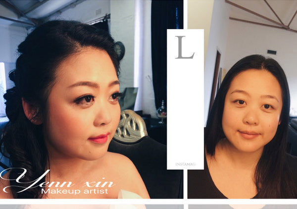 lulu prewed makeup