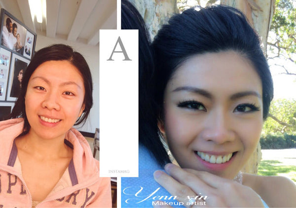 yennxin makeup for agnes prewedding