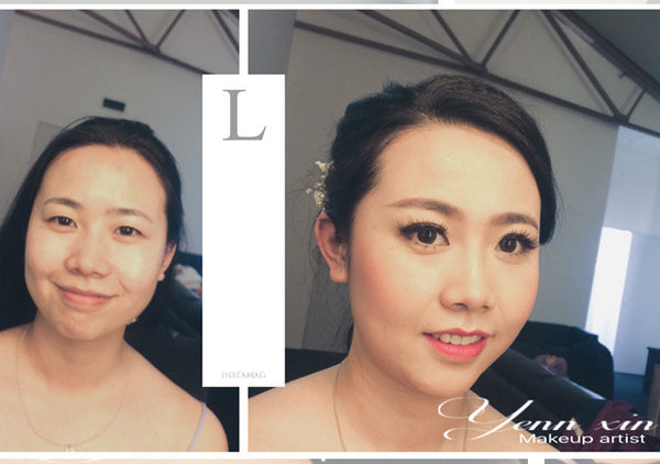 bride makeup by yennxin