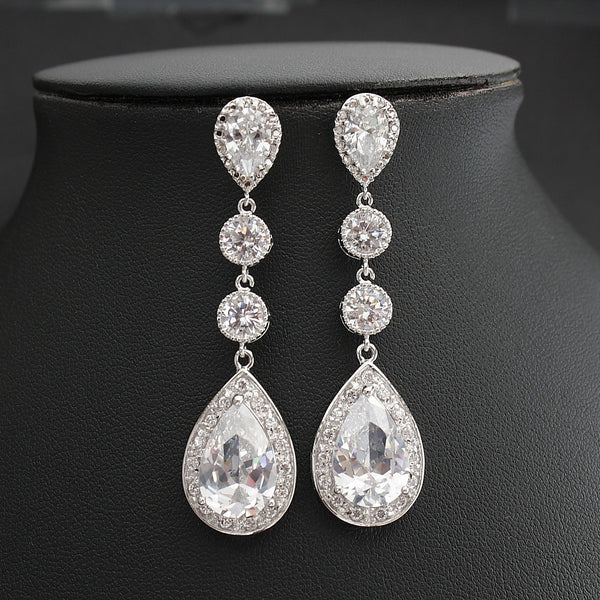 Eyra silver earrings