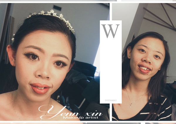 wis bride makeup by yennxin