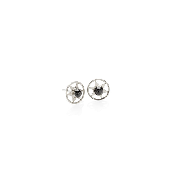 Orbiting Star Stud Earring