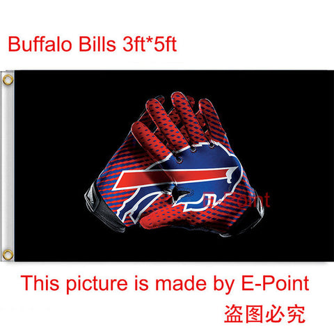 Buffallo Bills Football Flag 3ftx5ft