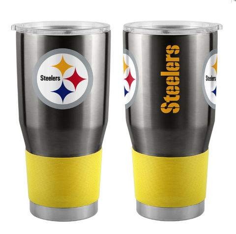 **Pittsburgh Steelers *** ULTRA 30 OZ STAINLESS STEEL TRAVEL TUMBLERS-DRINKWARE Free Shipping!