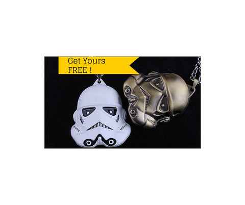 Star Wars Series Robot Head Necklace & Pendant