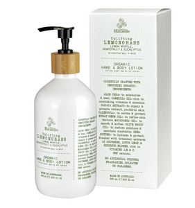 Uplifting Lemongrass Organic Hand & Body Lotion