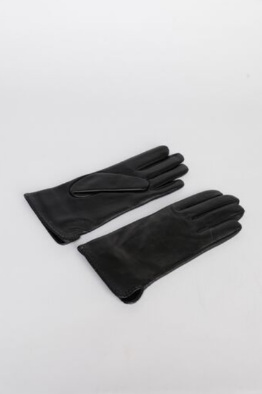 Spencer Black Leather ladies Gloves