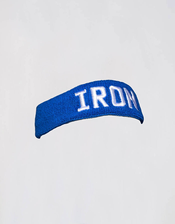 IRON Headband - Royal Blue - Golden Aesthetics