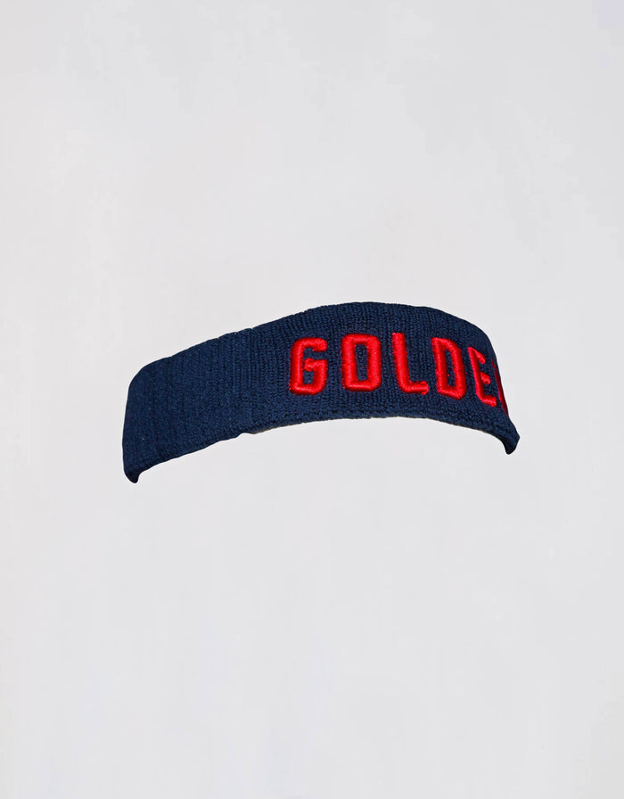 GOLDEN Headband - Navy/Red - Golden Aesthetics