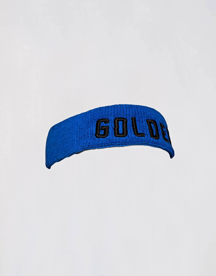 GOLDEN Headband - Royal Blue/Black - Golden Aesthetics