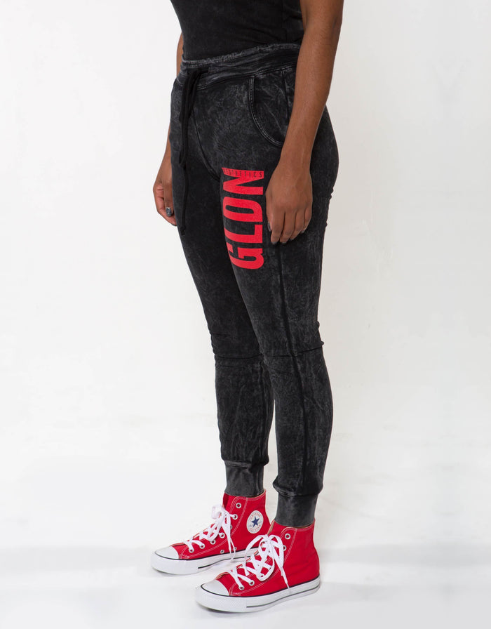 Ga Her Joggers - Black - Bottoms For Her
