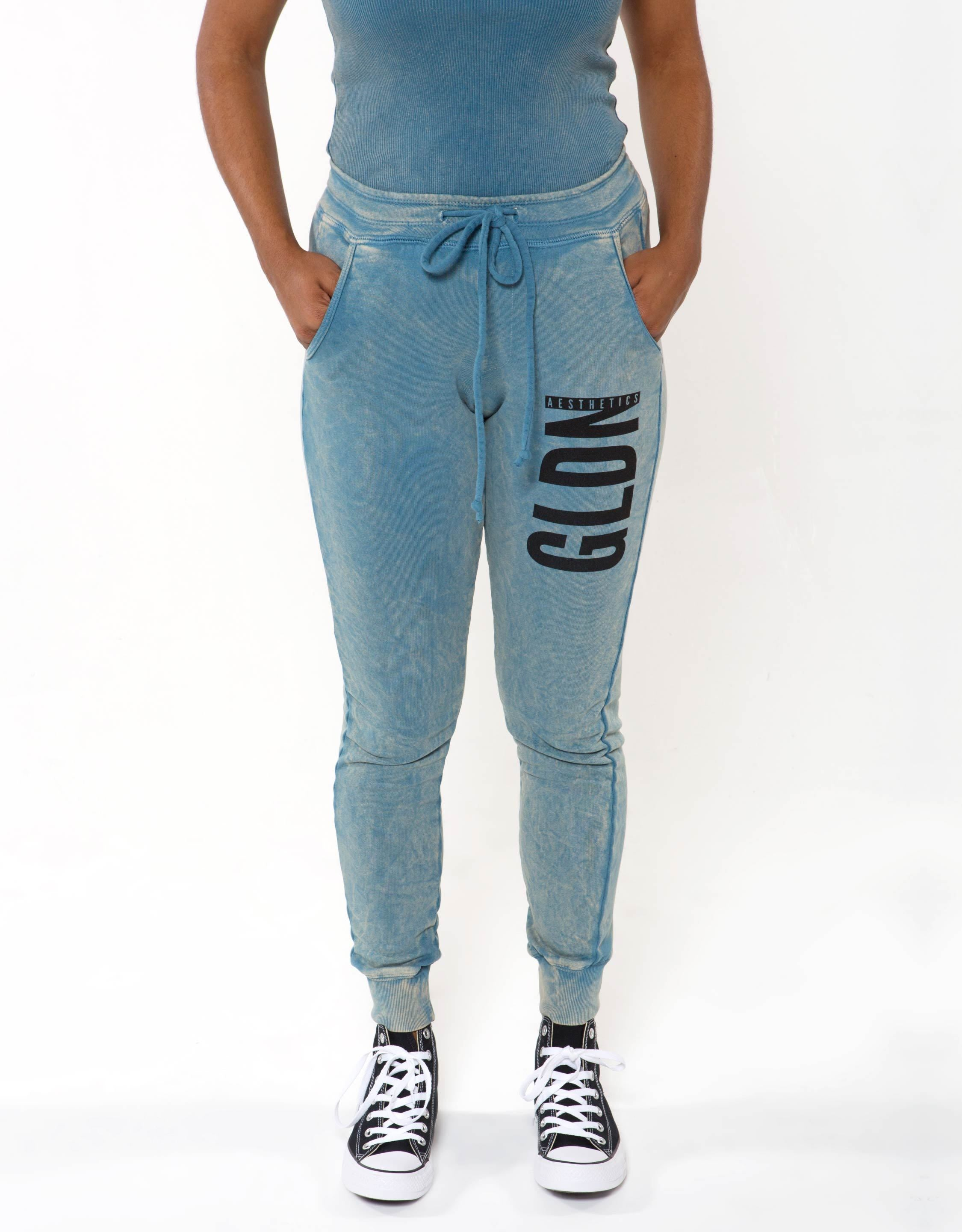 Ga Her Joggers - Blue - Bottoms For Her